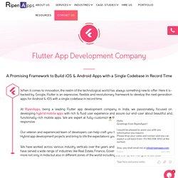 Top Flutter App Development Company in Kuala Lumpur, Malaysia