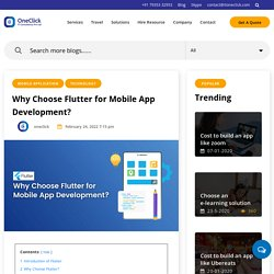 Is flutter next big thing in mobile app development