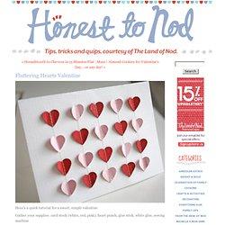 Fluttering Hearts Valentine