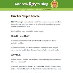 Flux For Stupid People