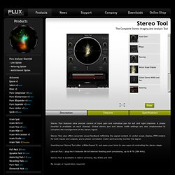 Flux: Stereo Tool