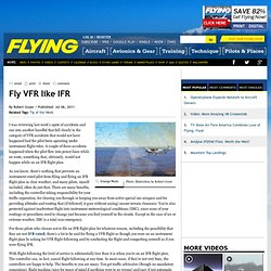 Fly VFR like IFR