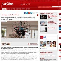 La startup Flyability va bientôt commercialiser son drone tout terrain - Terre-Sainte