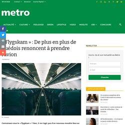 « Flygskam » : les Suédois et l'avion