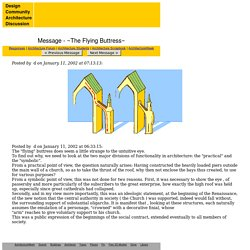 ~The Flying Buttress~ - Architecture Forum