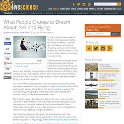Flying & Sex? What People Dream About in Lucid Dreams