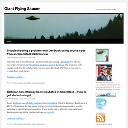 Giant Flying Saucer | Programming parlour tricks