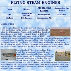 FLYING STEAM ENGINES
