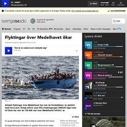 Flyktingar över Medelhavet ökar