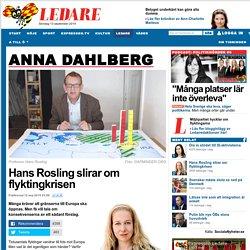 Hans Rosling slirar om flyktingkrisen