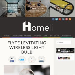Flyte Levitating Wireless Light Bulb