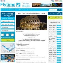 Flytime - RIM - 4 NOĆI - NOVA GODINA OD 275 EUR