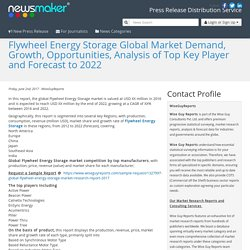 Flywheel Energy Storage Global Market Demand, Growth, Opportunities, Analysis of Top Key Player and Forecast to 2022
