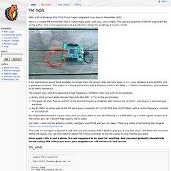 FM SOS - Hamsterworks Wiki!