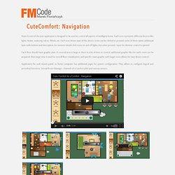 FMCode - CuteComfort: Navigation