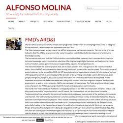 FMD's ARD&I » Alfonso Molina