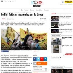 Le FMI fait son mea culpa sur la Grèce