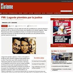 FMI: Lagarde plombée par la justice