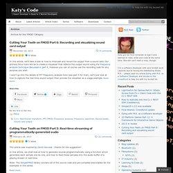 Katy's Code