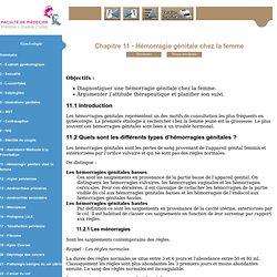 Gynécologie - Niveau DCEM2