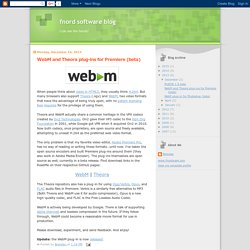 fnord software blog: WebM and Theora plug-ins for Premiere (beta)