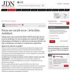 Focus sur un job en or : le/la Data Architect