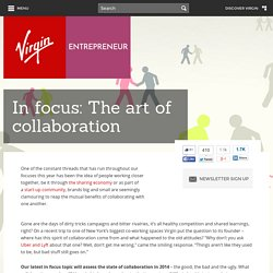 In focus: The art of collaboration