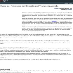 Causal aid: Focusing on new Perceptions of Teaching in Australia