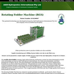 Fodder Machine