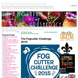 The Fogcutter Challenge 2015! « A MOUNTAIN OF CRUSHED ICE