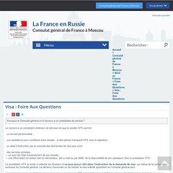 Visa : Foire Aux Questions