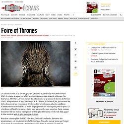 Foire of Thrones