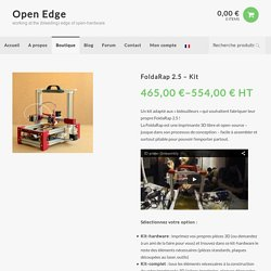 FoldaRap 2.5 - Kit - Open EdgeOpen Edge