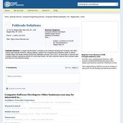 Foldcode Solutions - Niagara Falls, NY