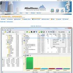 Folder Size - Screen Shots