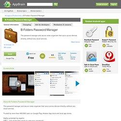 B-Folders - Sync & Secure