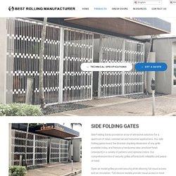 SIDE FOLDING GATES – Best Rolling Manufacturer