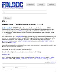 FOLDOC - Computing Dictionary