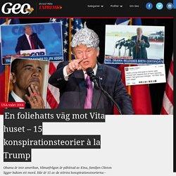 Foliehatten Donald Trumps väg mot Vita huset