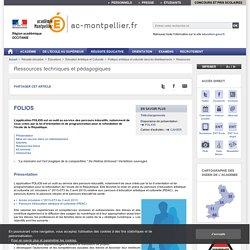 FOLIOS - ac-montpellier