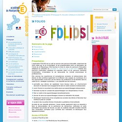 Le Folios de l'ONISEP
