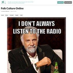 Folk Culture Online