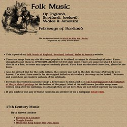 Folk Music of Scotland
