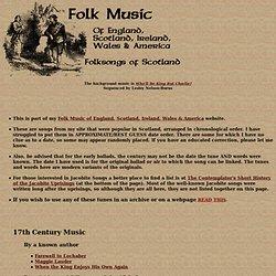 Folk Music of Scotland