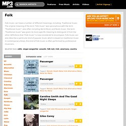 Folk - Top Downloads - MP3