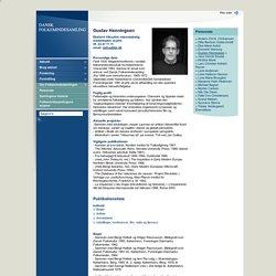 Dansk Folkemindesamling - Gustav Henningsen