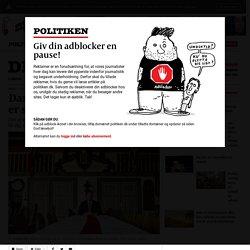 Dansk Folkeparti: Danskhed er sindelag