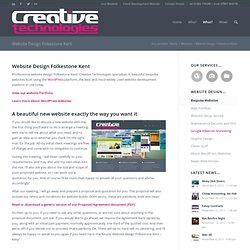 Website Design Folkestone Kent - Mat Mackenzie Creative Technologies