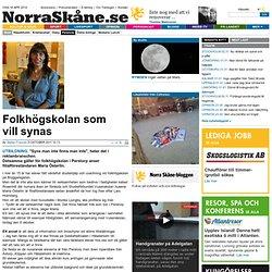 Folkhögskolan som vill synas - Perstorp - NorraSkåne.se
