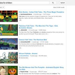 folktales for children - video